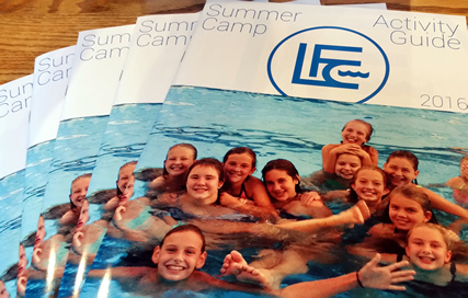 The 40 page Lake Forest Club Activity Guides took the organization to a new level of sophistication and success.